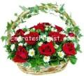 Spectacular Rose Basket