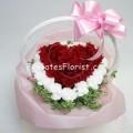 Heart Full Rose Basket
