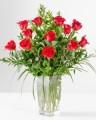Emirates Florist Vase of roses