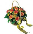 The Classic Rose Basket