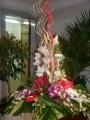 Arabic style flower arrangements