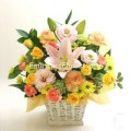 Yellow Pink Arrangement