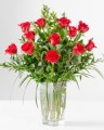Emirates Florist Vase of roses