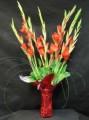 Gladyola's in vase